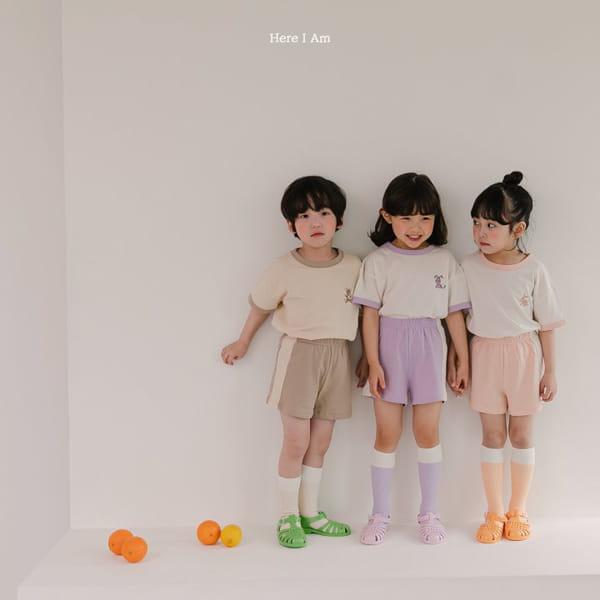 HERE I AM - Korean Children Fashion - #Kfashion4kids - Summer Animal Top Bototm Set - 3