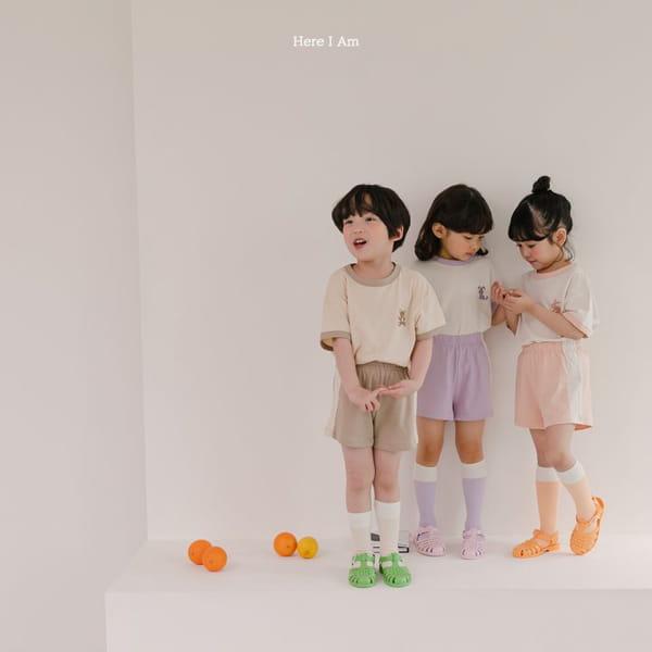 HERE I AM - Korean Children Fashion - #Kfashion4kids - Summer Animal Top Bototm Set - 4