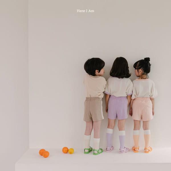 HERE I AM - Korean Children Fashion - #Kfashion4kids - Summer Animal Top Bototm Set - 5
