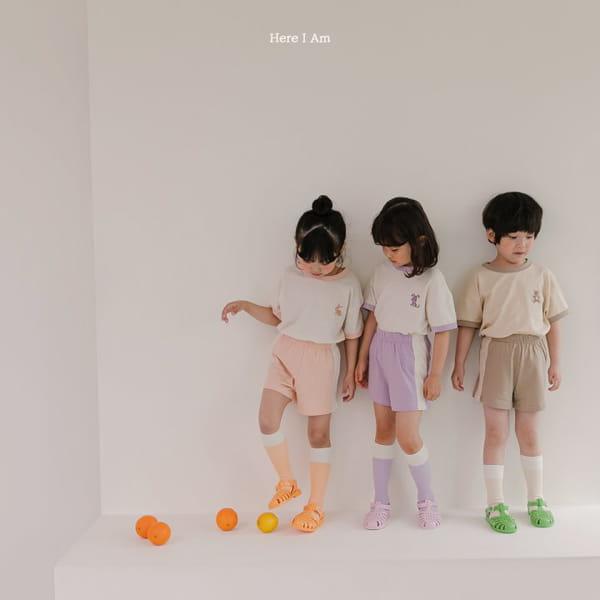 HERE I AM - Korean Children Fashion - #Kfashion4kids - Summer Animal Top Bototm Set - 6