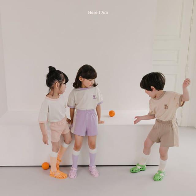 HERE I AM - BRAND - Korean Children Fashion - #Kfashion4kids - Summer Animal Top Bototm Set