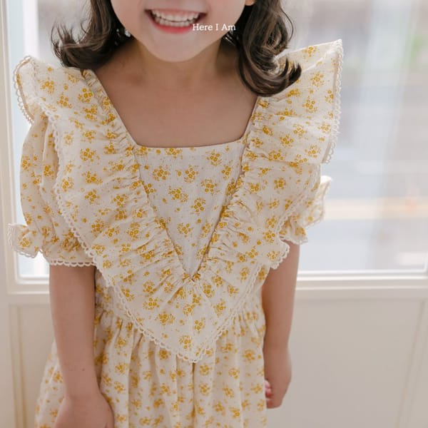 HERE I AM - Korean Children Fashion - #Kfashion4kids - Burney One-piece - 8