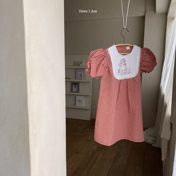 HERE I AM - Korean Children Fashion - #Kfashion4kids - Morley Check One-piece - 10