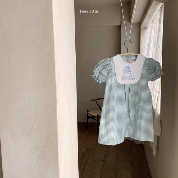 HERE I AM - Korean Children Fashion - #Kfashion4kids - Morley Check One-piece - 11