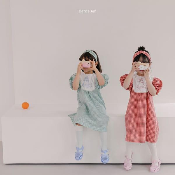 HERE I AM - Korean Children Fashion - #Kfashion4kids - Morley Check One-piece - 3