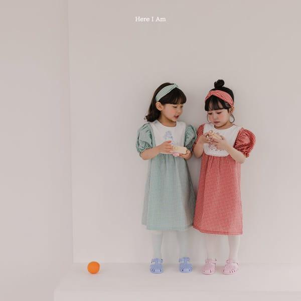 HERE I AM - Korean Children Fashion - #Kfashion4kids - Morley Check One-piece - 4