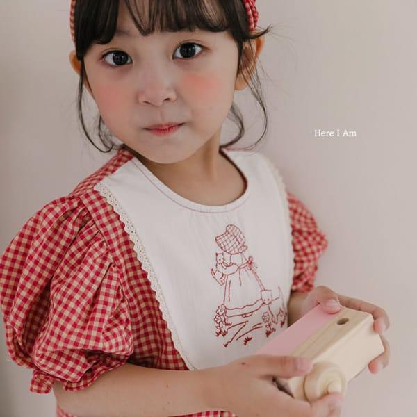 HERE I AM - Korean Children Fashion - #Kfashion4kids - Morley Check One-piece - 5