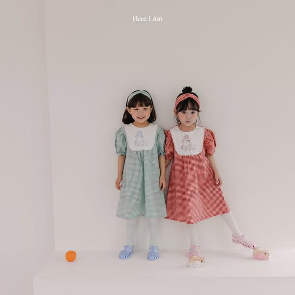 HERE I AM - Korean Children Fashion - #Kfashion4kids - Morley Check One-piece - 6