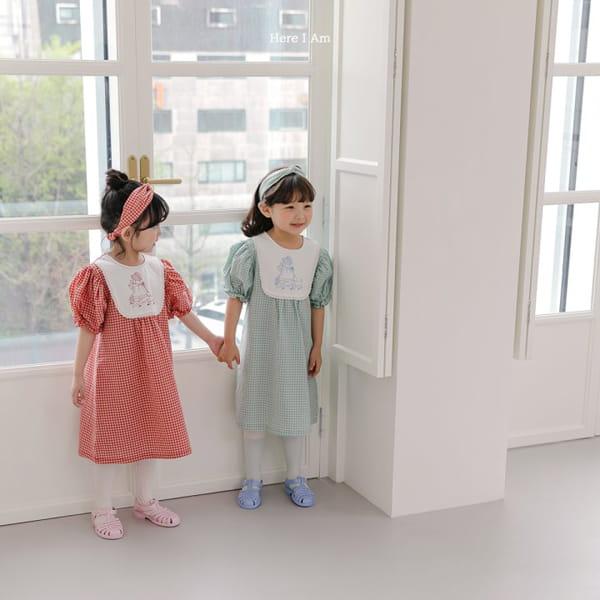 HERE I AM - Korean Children Fashion - #Kfashion4kids - Morley Check One-piece - 7