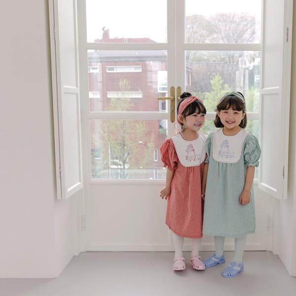 HERE I AM - Korean Children Fashion - #Kfashion4kids - Morley Check One-piece - 9
