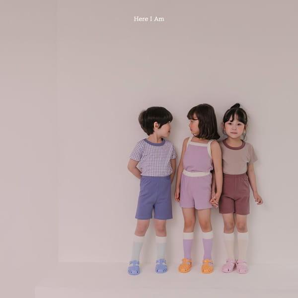 HERE I AM - Korean Children Fashion - #Kfashion4kids - Melo Cotton Span Top Bottom Set - 10