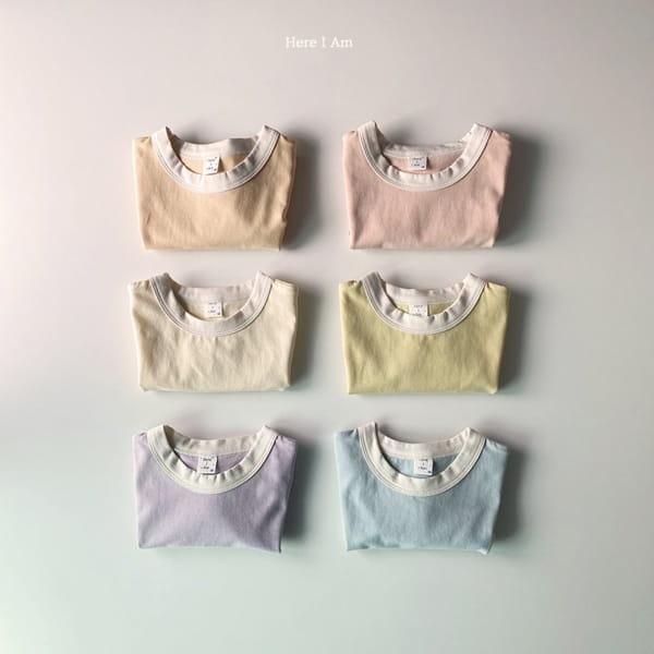 HERE I AM - Korean Children Fashion - #Kfashion4kids - Melo Cotton Span Top Bottom Set - 11