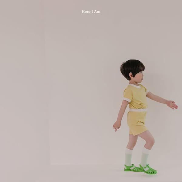 HERE I AM - Korean Children Fashion - #Kfashion4kids - Melo Cotton Span Top Bottom Set - 5
