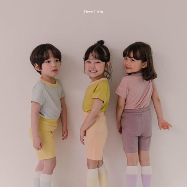 HERE I AM - BRAND - Korean Children Fashion - #Kfashion4kids - Maple Easywear