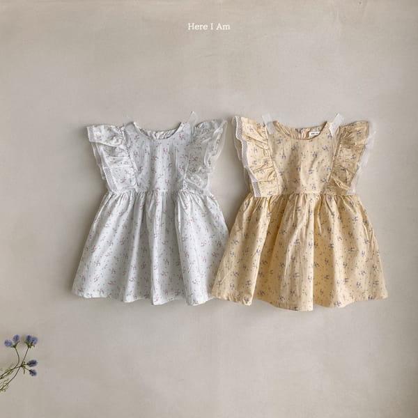 HERE I AM - Korean Children Fashion - #Kfashion4kids - Drape One-piece - 10