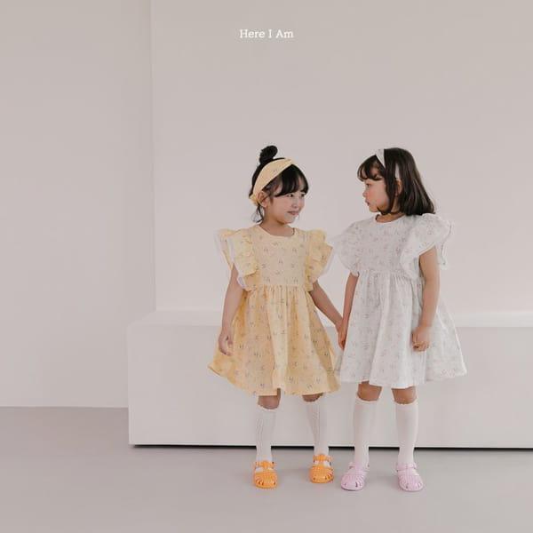 HERE I AM - Korean Children Fashion - #Kfashion4kids - Drape One-piece - 3