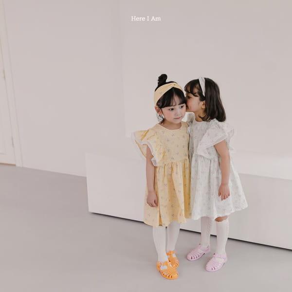HERE I AM - Korean Children Fashion - #Kfashion4kids - Drape One-piece - 4