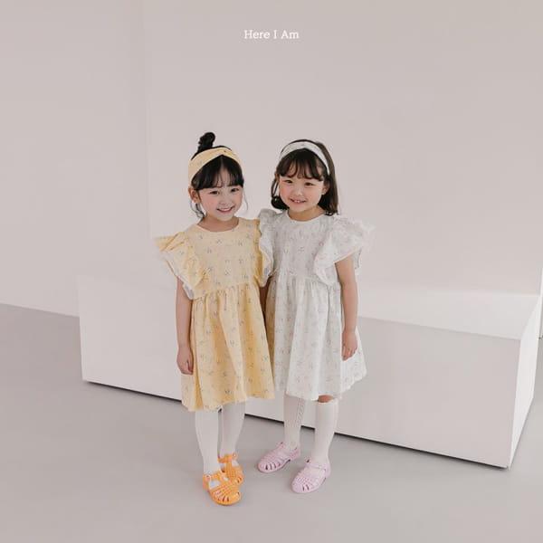 HERE I AM - Korean Children Fashion - #Kfashion4kids - Drape One-piece - 5