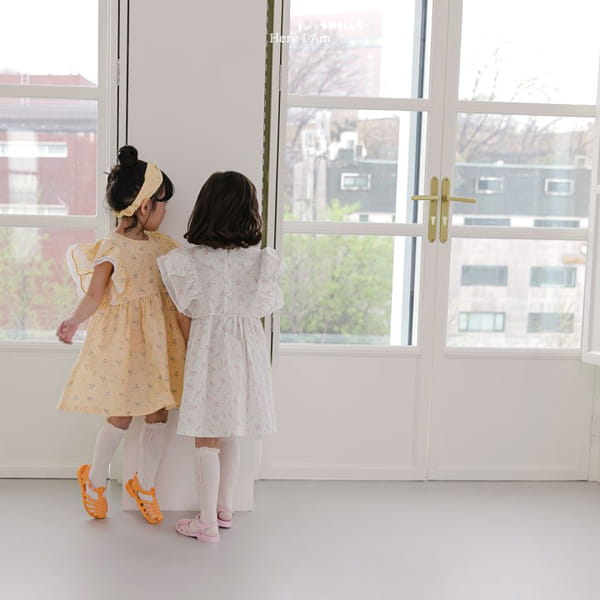 HERE I AM - Korean Children Fashion - #Kfashion4kids - Drape One-piece - 7