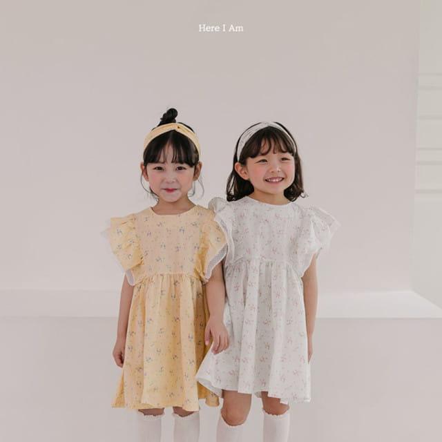 HERE I AM - BRAND - Korean Children Fashion - #Kfashion4kids - Drape One-piece