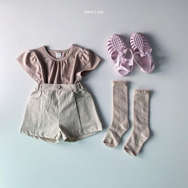 HERE I AM - Korean Children Fashion - #Kfashion4kids - Daisy Shirring Tee - 10