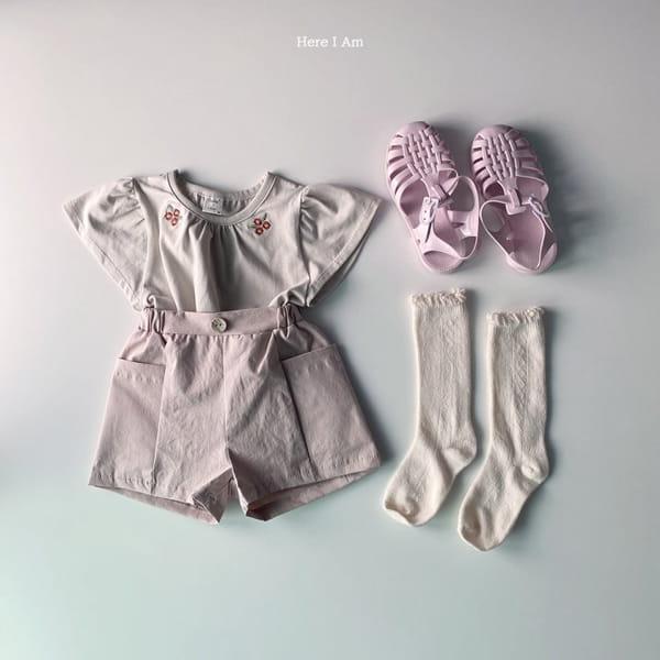 HERE I AM - Korean Children Fashion - #Kfashion4kids - Daisy Shirring Tee - 11