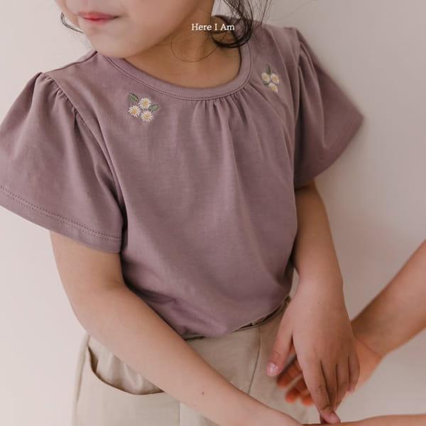 HERE I AM - Korean Children Fashion - #Kfashion4kids - Daisy Shirring Tee - 3