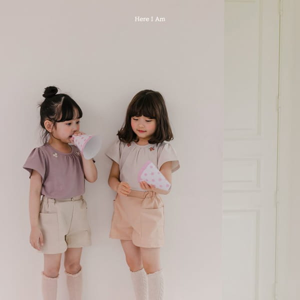 HERE I AM - Korean Children Fashion - #Kfashion4kids - Daisy Shirring Tee - 4