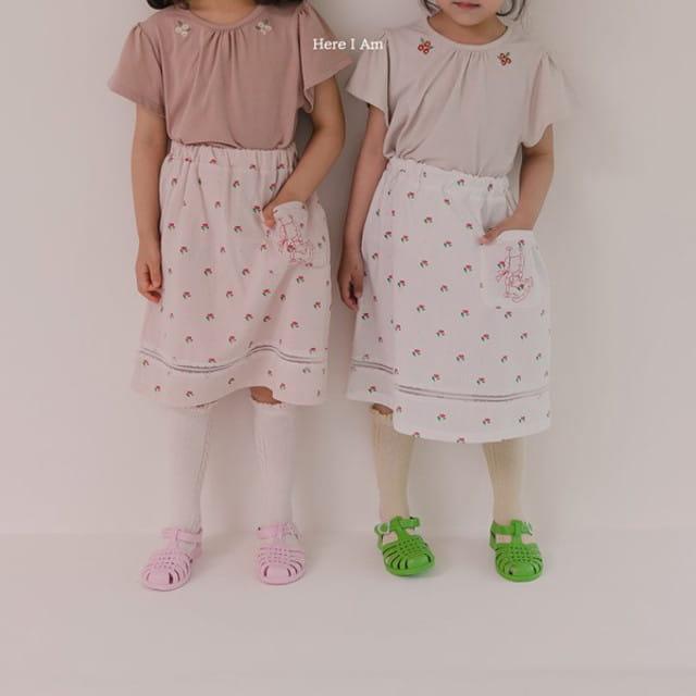 HERE I AM - BRAND - Korean Children Fashion - #Kfashion4kids - Heidi Skirt