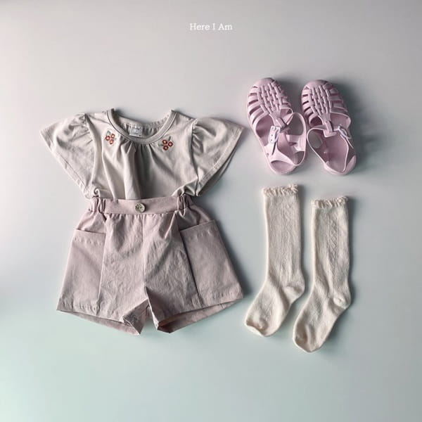 HERE I AM - Korean Children Fashion - #Kfashion4kids - Flip Pants - 10