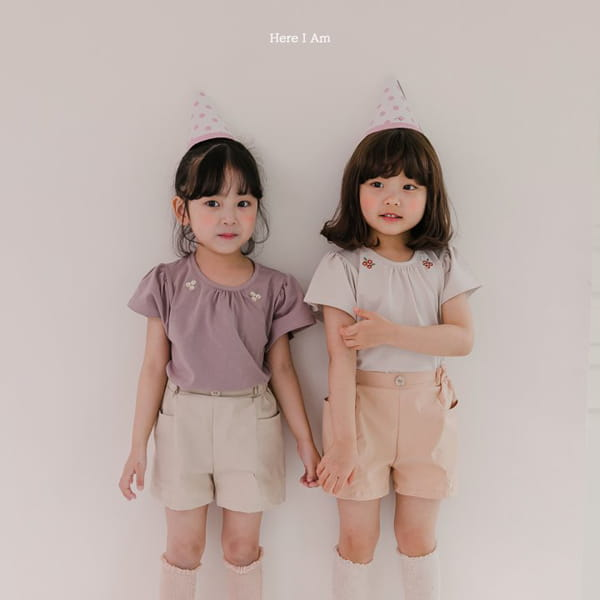 HERE I AM - Korean Children Fashion - #Kfashion4kids - Flip Pants - 5