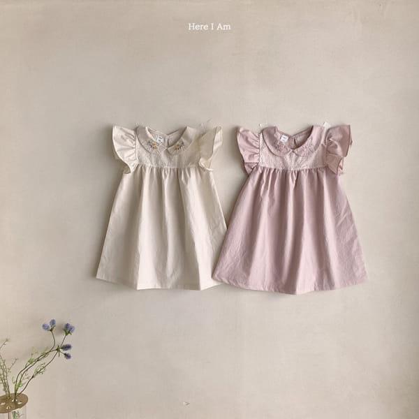 HERE I AM - Korean Children Fashion - #Kfashion4kids - Flowery One-piece - 11