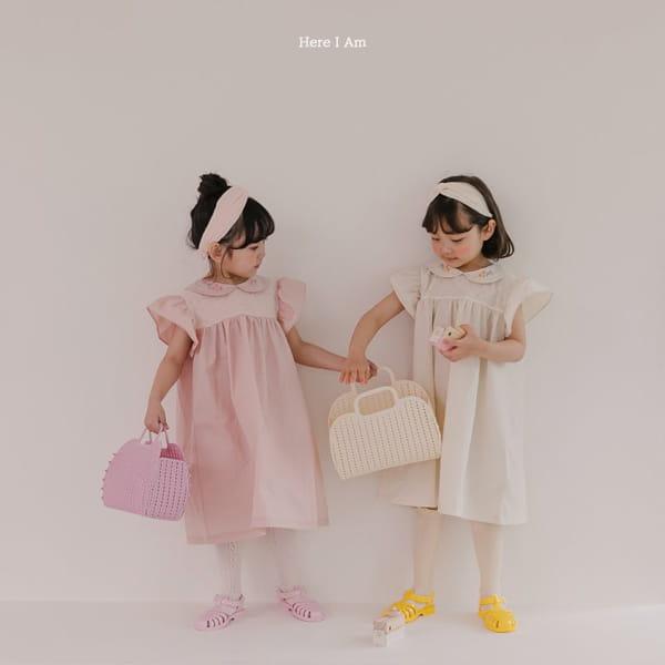 HERE I AM - Korean Children Fashion - #Kfashion4kids - Flowery One-piece - 3