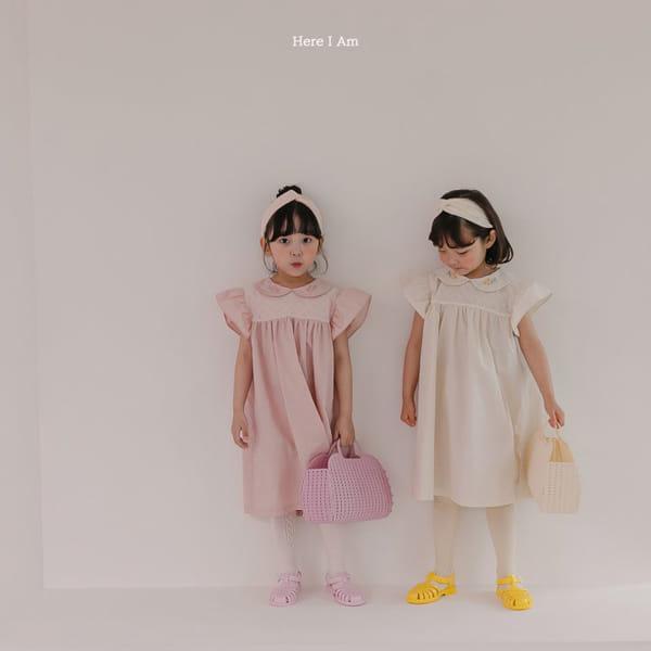 HERE I AM - Korean Children Fashion - #Kfashion4kids - Flowery One-piece - 4