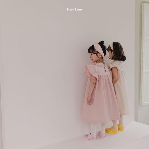 HERE I AM - Korean Children Fashion - #Kfashion4kids - Flowery One-piece - 5