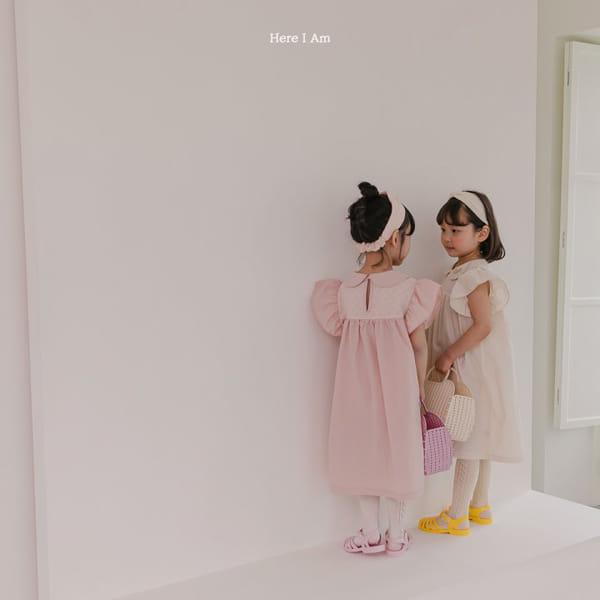 HERE I AM - Korean Children Fashion - #Kfashion4kids - Flowery One-piece - 6