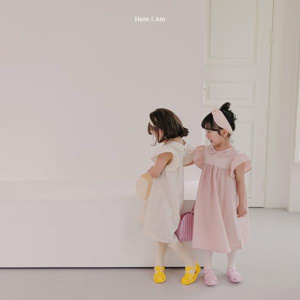 HERE I AM - Korean Children Fashion - #Kfashion4kids - Flowery One-piece - 8