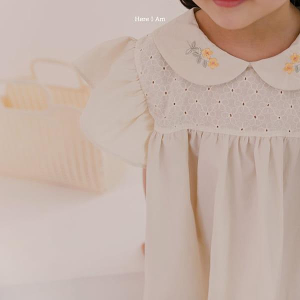 HERE I AM - Korean Children Fashion - #Kfashion4kids - Flowery One-piece - 9
