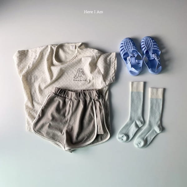 HERE I AM - Korean Children Fashion - #Kfashion4kids - Play Top Bottom Set - 10
