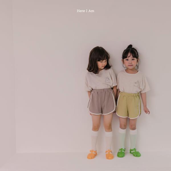 HERE I AM - Korean Children Fashion - #Kfashion4kids - Play Top Bottom Set - 3