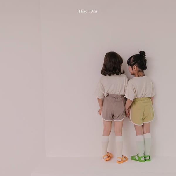 HERE I AM - Korean Children Fashion - #Kfashion4kids - Play Top Bottom Set - 4