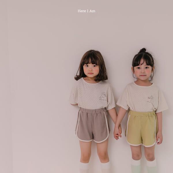 HERE I AM - Korean Children Fashion - #Kfashion4kids - Play Top Bottom Set - 5