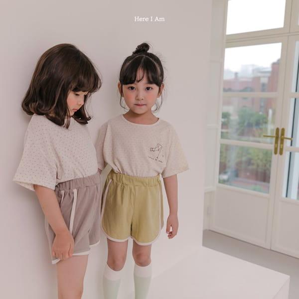 HERE I AM - Korean Children Fashion - #Kfashion4kids - Play Top Bottom Set - 6