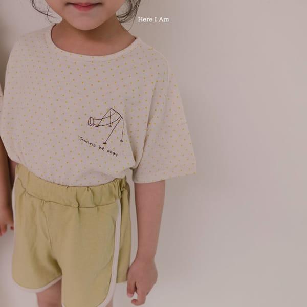 HERE I AM - Korean Children Fashion - #Kfashion4kids - Play Top Bottom Set - 8