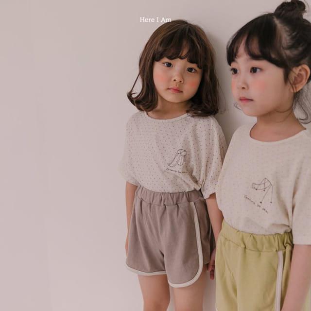 HERE I AM - BRAND - Korean Children Fashion - #Kfashion4kids - Play Top Bottom Set
