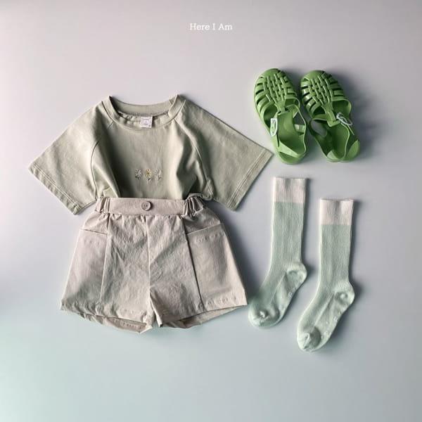 HERE I AM - Korean Children Fashion - #Kfashion4kids - French Tee - 10
