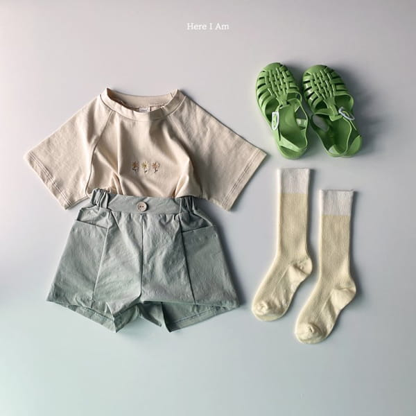 HERE I AM - Korean Children Fashion - #Kfashion4kids - French Tee - 11
