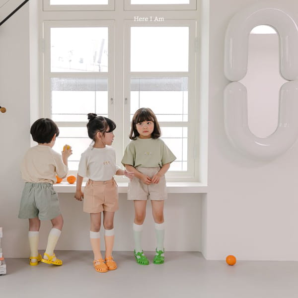 HERE I AM - Korean Children Fashion - #Kfashion4kids - French Tee - 4