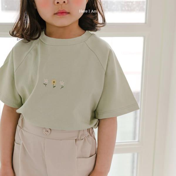 HERE I AM - Korean Children Fashion - #Kfashion4kids - French Tee - 6