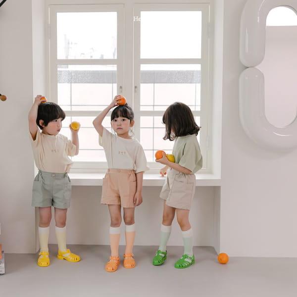 HERE I AM - Korean Children Fashion - #Kfashion4kids - French Tee - 8